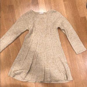 Girls sweater dress - 5-6